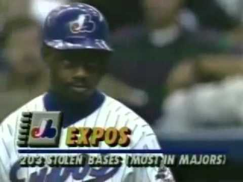 9/22/93 Braves at Expos