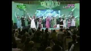 JEVEY JEVEY PAKISTANI STAGE SHOW SONGS WITH ASIF ALI ZARDARI FROM PTV ON 14 Aug 2012