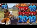 FREE FIRE TOP 10 LUGARES PARA CAMPEAR 2019 | *MEJORES ESCONDITES LEGALES FRE FIRE*