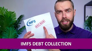 IMFS debt letter? Here's what to do!
