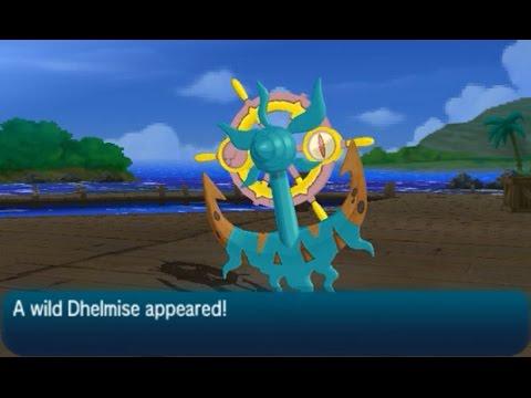 Dhelmise Location - Pokémon (Ultra) Sun & Moon