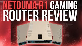 netduma r1 gaming router review geofilter vpn qos and more