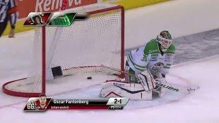 Höjdpunkter: Målvaktstabbe gav segern till Frölunda - TV4 Sport