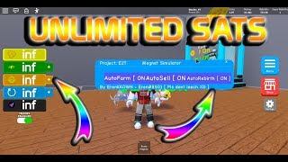 MAGNET SIMULATOR ROBLOX HACK / SCRIPT | UNLIMITED COINS | UNLIMITED REBIRTHS | MORE!!