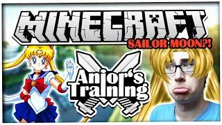 ANJOR'S TRAINING - SAILOR MOON? ☆ Let's Play Minecraft