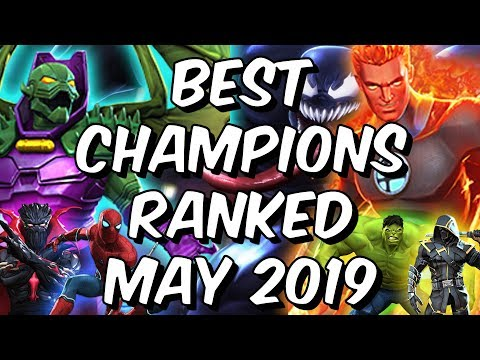 Best Champions Ranked May 2019 - Seatin's Tier List - Marvel Contest Of  Champions