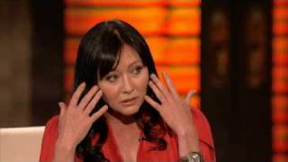Shannen Doherty Gets Emotional on George Lopez show 3/15/2010