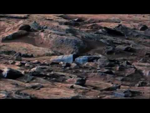 Martian Sarcophagus , Mars Anomalies, Curiosity Rover, 2015