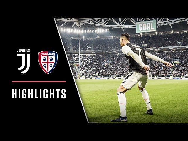 Highlights Juventus Vs Cagliari 4 0 Ronaldo Hat Trick Youtube