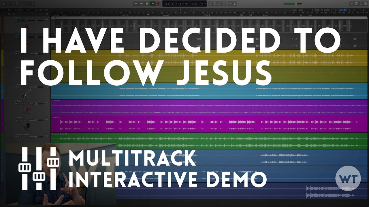 I Have Decided To Follow Jesus Multitrack Demo Youtube