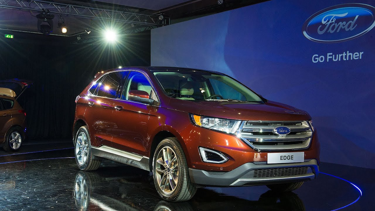 2014 ford edge welt premiere in koeln youtube. Black Bedroom Furniture Sets. Home Design Ideas