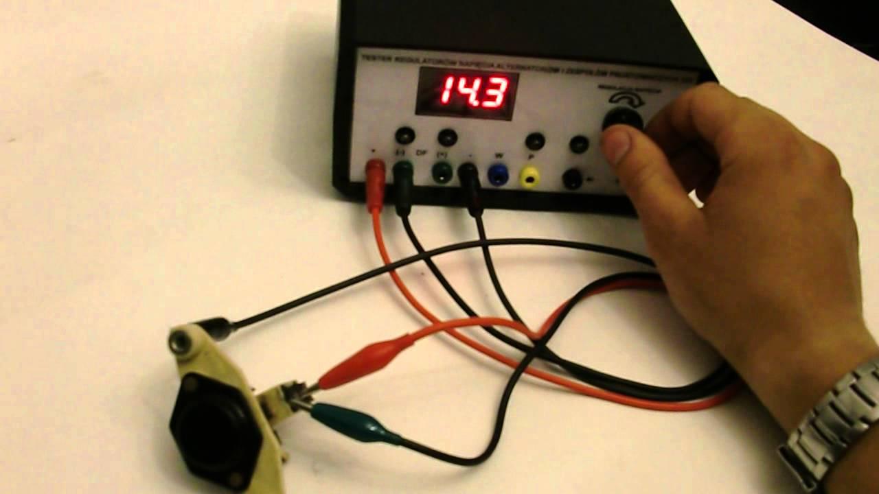 Tester Regulator U00f3w Napi U0119cia I Regulator Od Audi 80 Tel 518