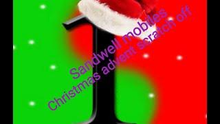 Sandwell mobiles Scratchcard christmas advent calendar day 1