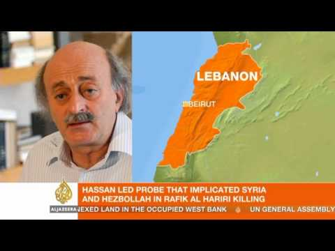 Al Jazeera interviews Lebanese politician Walid Jumblatt