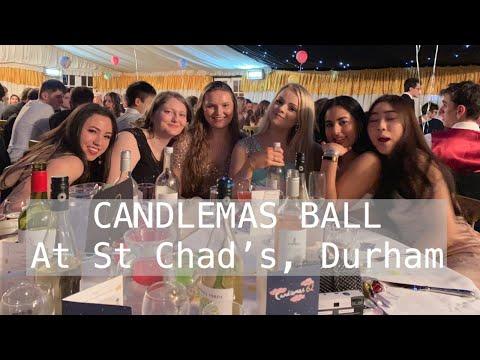 Durham Uni Vlog:Candlemas Ball St Chad's College