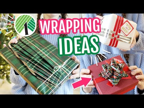 Creative Gift Wrapping Ideas Using Dollar Tree Supplies