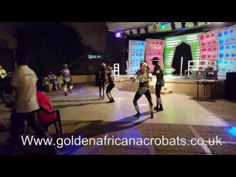 GOLDEN AFRICAN ACROBAT'S SHOW TEAM'S