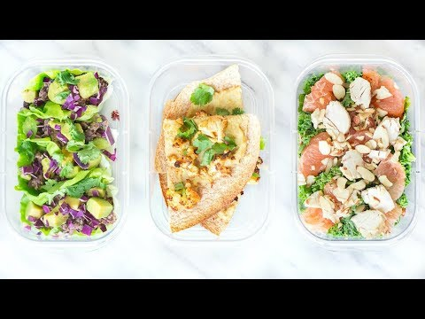 HEALTHY LUNCH IDEAS YOU NEED TO TRY! PERFECT FOR SCHOOL!