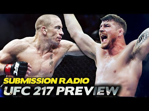 UFC 217: Bisping vs. St-Pierre PREVIEW - Dan Hardy, Jake Shields, Robin Black, John Morgan + More!