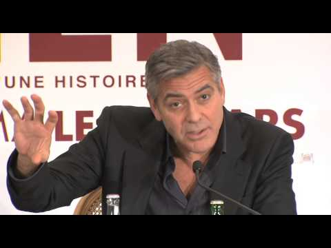 Monuments Men : Conférence de Presse à Paris