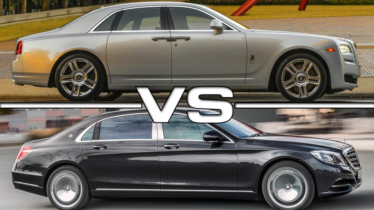 Mercedes S Vs Rolls Royce Phantom