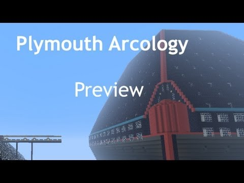 Minecraft plymouth arcology preview youtube minecraft plymouth arcology preview voltagebd Images
