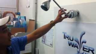 How To Install a Sprite HOC Shower Filter System