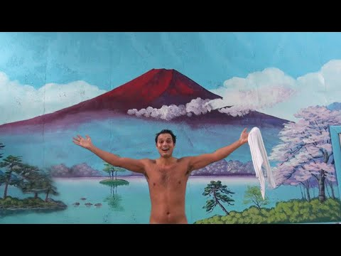 Japanese Public Bathing Exposed: The Naked Truth 日本の銭湯と熊鍋★ WAO✦RYU!TV ONLY in JAPAN #25