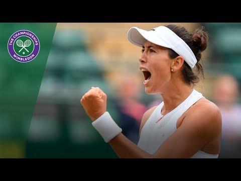 Garbiñe Muguruza v Svetlana Kuznetsova highlights - Wimbledon 2017 quarter-final