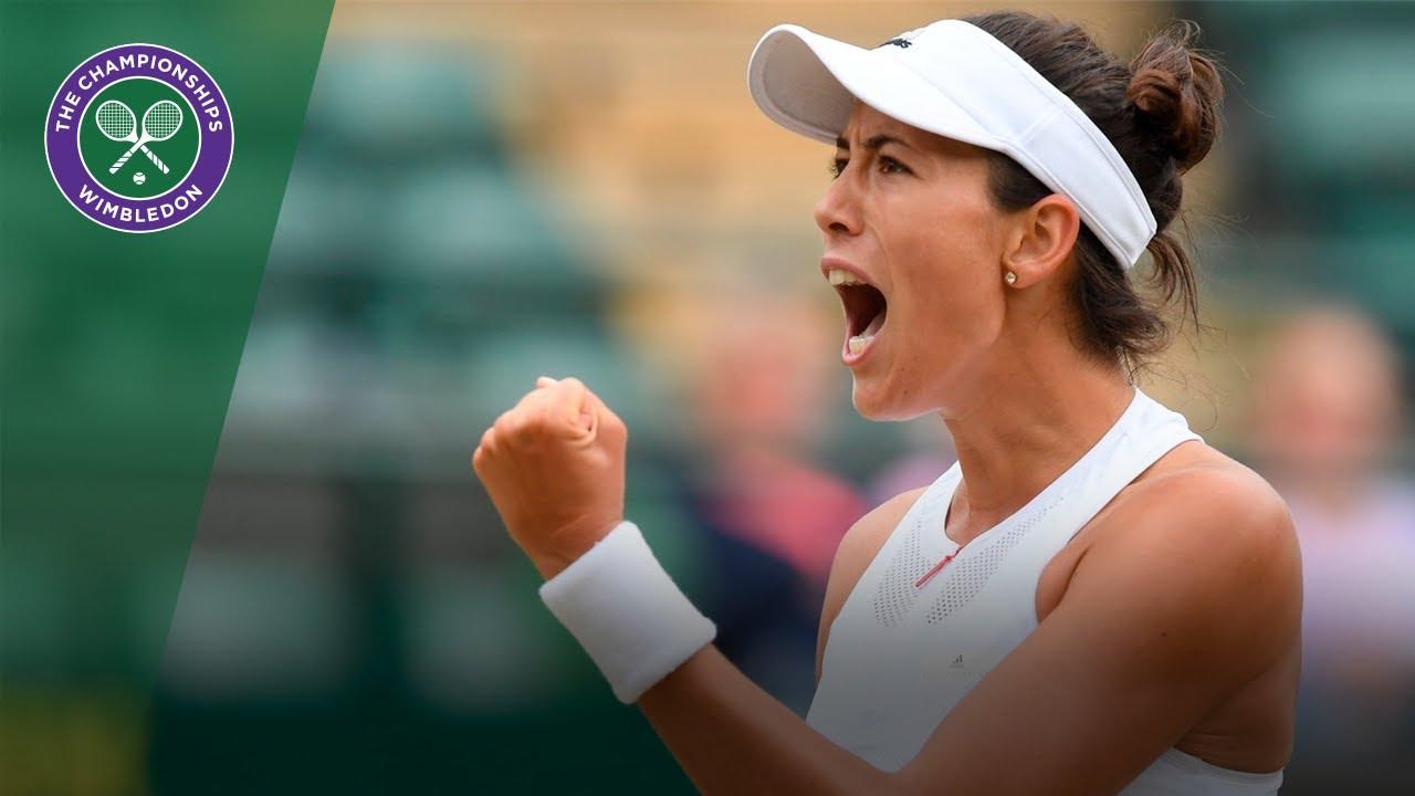 Garbi±e Muguruza v Svetlana Kuznetsova highlights Wimbledon 2017