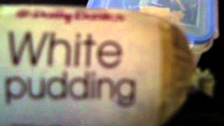 What Is White Pudding?!