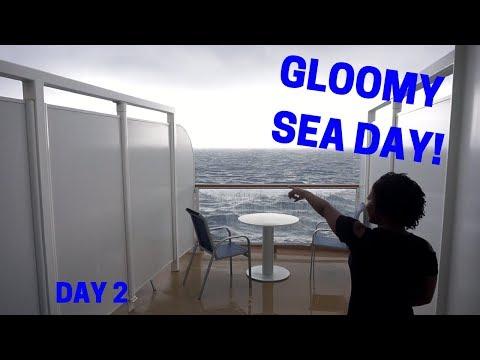 A RAINY SEA DAY! | Norwegian Escape Cruise Vlog Day 2