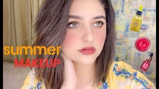 Easy Summer Makeup For Beginners - Mana Beauty Products - Glam For School, College etc