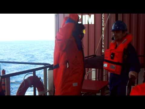 Marine Engineer (Engine Room) 2013 MV Zim Xiamen