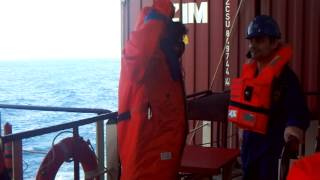 Marine Engineer (Engine Room) 2013 MV Zim Xiamen