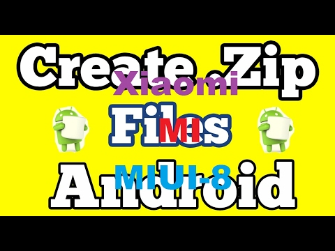 How To Create A ZIP File In Android Phone
