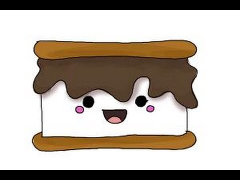 how to draw smores youtube free clipart of s'mores Christmas Dance Clip Art