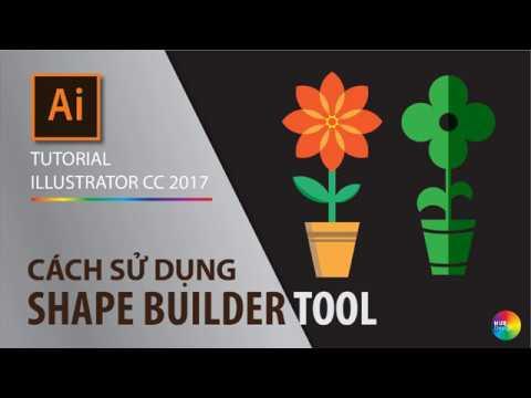 Tutorial illustrator CC - part 2.5 - How to use shape builder tool (cách SD công cụ Shape Builder) thumbnail