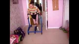 видео: Митюхляева Вероника. Ходьба в параподиуме. Март 2015