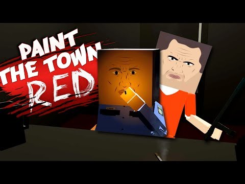THE MANSION HEIST! - Workshop Levels & Creations - Paint The Town Red Gameplay