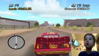My 4 Year Old Son Addicted To Cars video game - Kids Games
