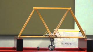 Usc Civil Engineering Spaghetti Bridge Challenge 2012
