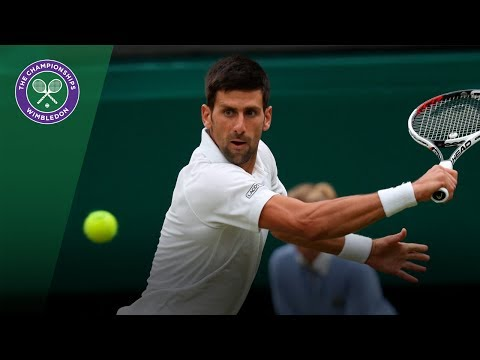 Novak Djokovic v Adrian Mannarino highlights - Wimbledon 2017 fourth round