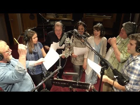 Watch the actors sing in