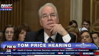 HEATED: Bernie Sanders TAKES ON Tom Price at Hearing - Is Healthcare a Right for ALL Americans? -FNN