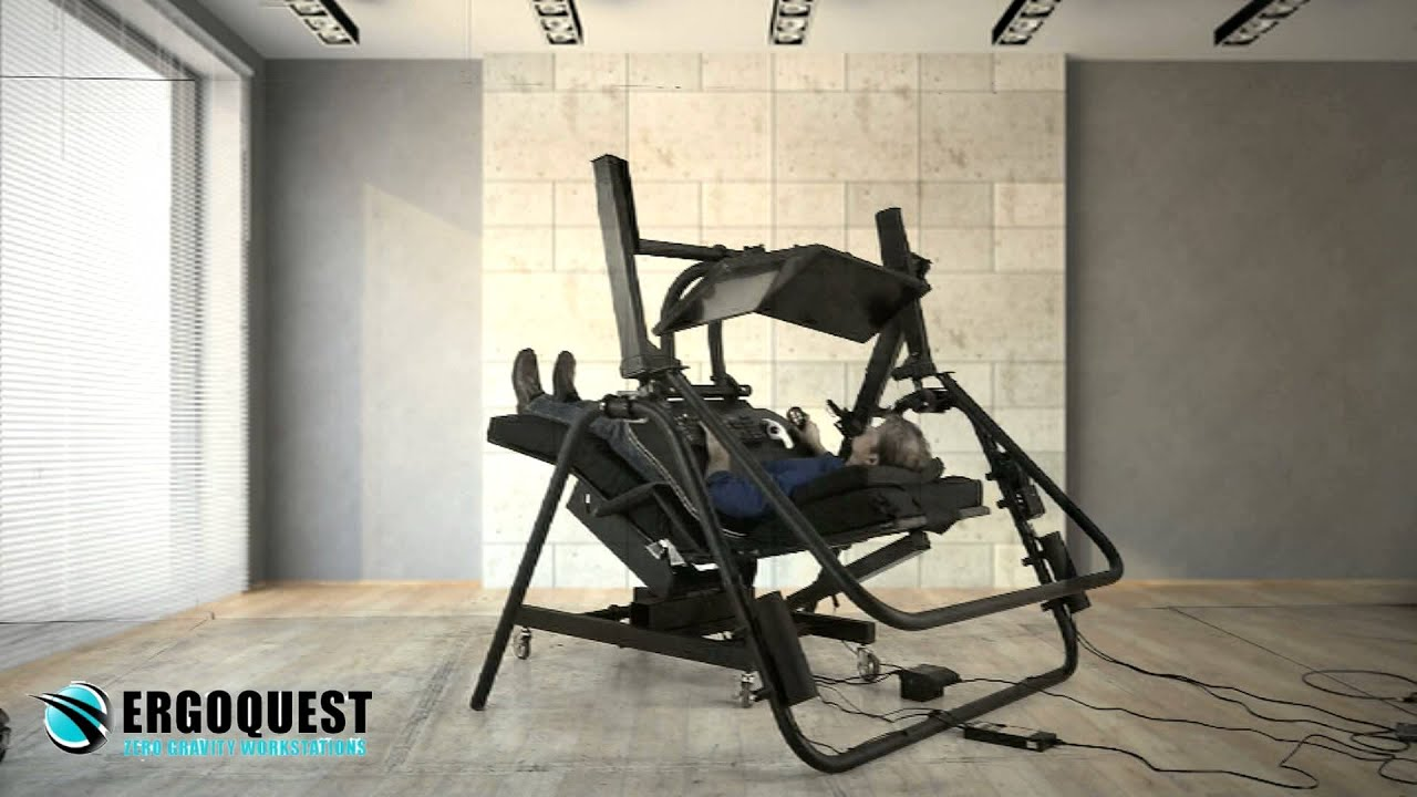 Ergoquest zero gravity chairs and workstations - Ergoquest Zero Gravity Chairs And Workstations 10