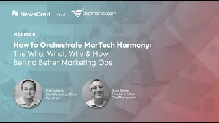 [Webinar] How to Orchestrate MarTech Harmony: The Who, What, Why, & How Behind Better Marketing Ops