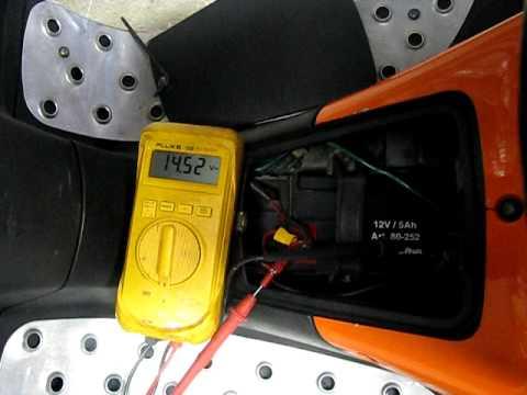 bilbatteri test