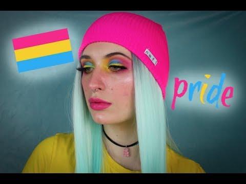 Pansexual Pride Inspired Makeup thumbnail