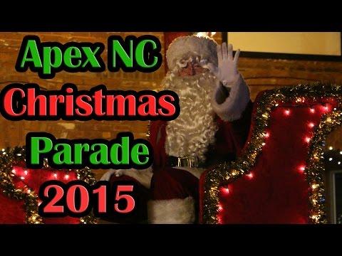 Apex NC Christmas Parade 2015